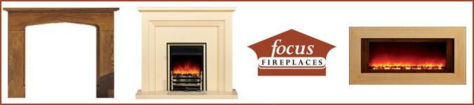 Focus Fireplaces, Banner