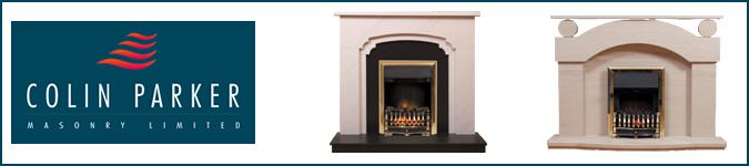 Colin Parker Fireplaces, banner
