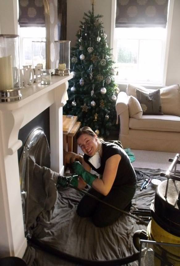 Festive Chimney Sweeping