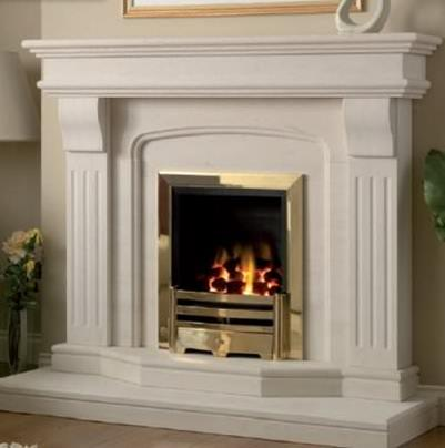 Fixing a Marble Fireplace