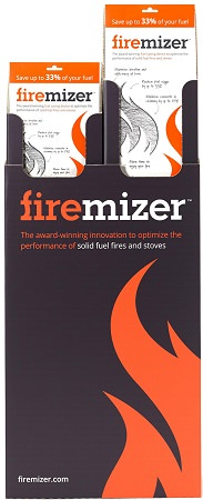 Firemizer has been scientifically proven to reduce solid fuel usage by up to 38%