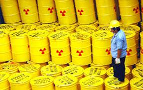 There are now 4.5m cubic metres of accumulated radioactive waste kept in secure containers at sites across Britain
