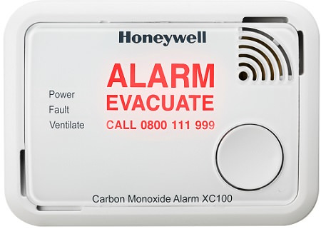 Honeywell CO Alarm