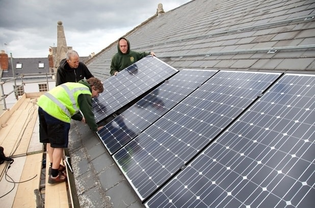 Community buildings across Bristol could be fitted with solar panels