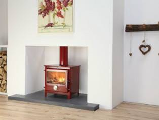 Hand Crafted Mendip Enamel Stove