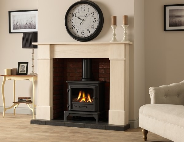 New Log Effect For Valor Ridlington Gas Stove