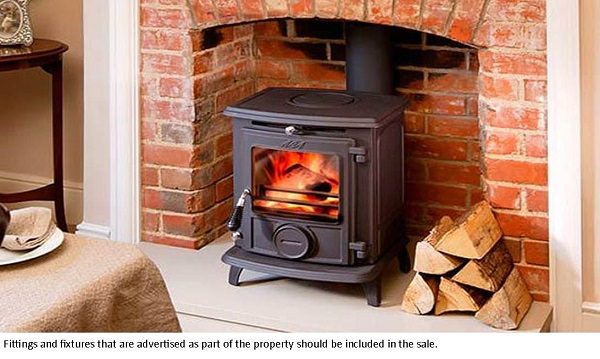 'Our sellers are removing the wood burning stove. Can we stop them?'