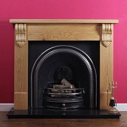 Article: how best clean a matt black fire surround_traditional