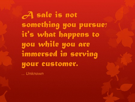Can people be taught the art of sales quote