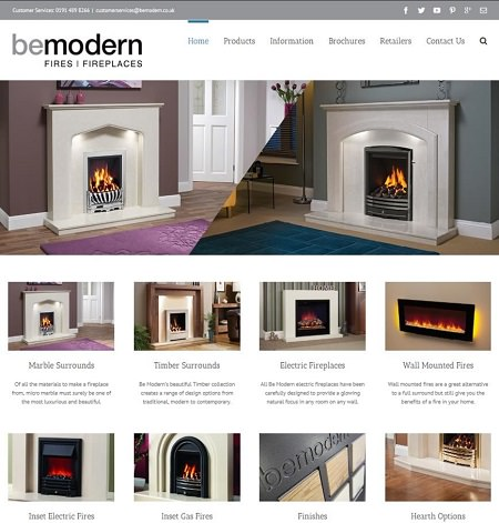 Be Modern Launches new website 2