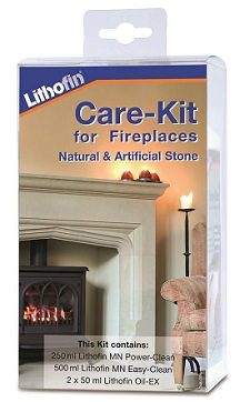 Lithofin - Specialist Stone Fireplace Care and Maintenance