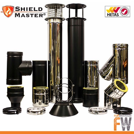 Flue Warehouse Brings Shieldmaster to the UK