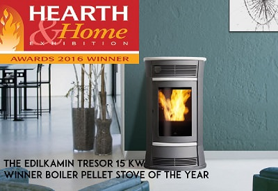 Award Winning Pellet Stoves and Boilers from Italy's Leading Manufacturer Edilkamin 1