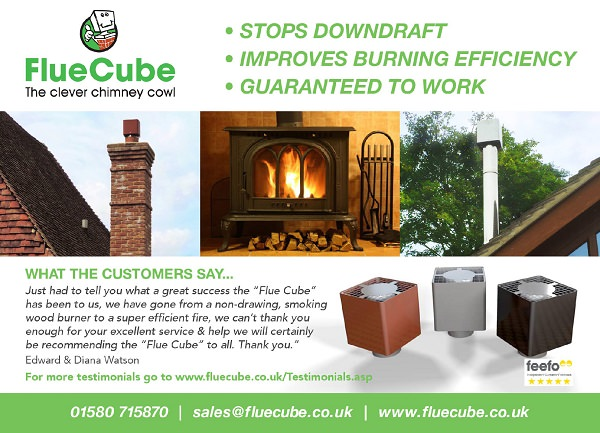 Fluecube exhibits at the glamping show 3