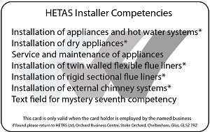 How to check your Solid Fuel Engineer is HETAS Registered 2