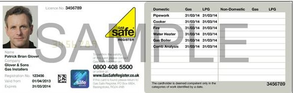 Article Gcheck it gas safe engineer ID