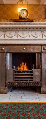 Using a Bio Ethanol Fire to Restore a Historical Fireplace 2