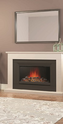 New Electric Fireplaces Complete the Look