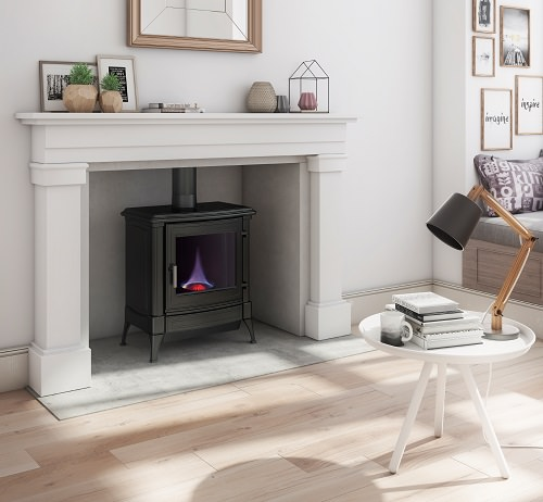 Elegant and Easy to Care For The Oil Fired S21 Stove from Nestor Martin Is Ideal for Rural Areas