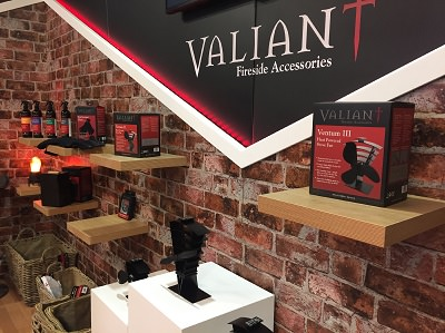 Great success for Valiant at this years Hearth and Home Exhibition