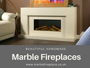 Designer Fireplaces Marble side bar ad