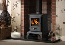 Wood-burning stoves: Primary, secondary and tertiary air supplies